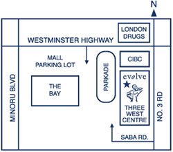 map to evolve therapeutic massage